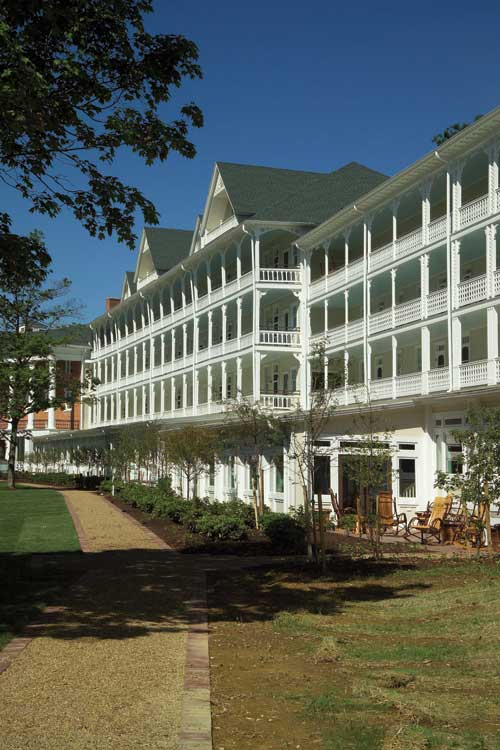 Bedford Springs Hotel Historic Renovation L R Costanzo Construction Services Co Inc